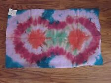 "Big Tie Dye Sammy Shammy Chamois Sports Towel Diving/Divers/Swimmers 26""x17"""