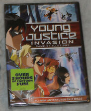 Young Justice: Invasion - Game Of Illusions: Temporada 2 - Parte 2 - DVD BOX SET