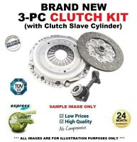 Brand New 3PC CLUTCH KIT with CSC for VOLVO V70 2.0 D 2007-2015