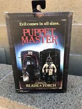 """ULTIMATE BLADE & TORCH Puppet Master 4"""" inch Action Figure 2-pack Neca 2021"""