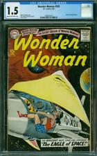 WONDER WOMAN 105 CGC 1.5 COW PAGE ORIGN 1959 A0