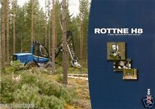 Equipment Brochure - Rottne - H8 - Logging Forest Harvester (E1926)