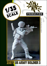 1/35 scale resin model kit US army soldier #3