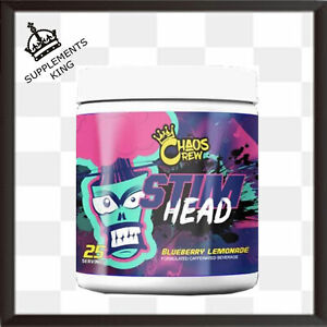Chaos Crew Stim Head Pre Workout Extreme Energy - 25 Servings
