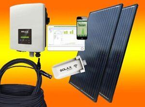 900Watt Balkonkraftwerk Photovoltaikanlage Solax Solaranlage Plug & Play