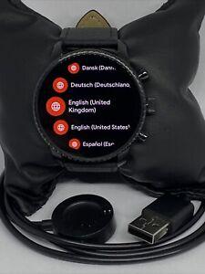 Fossil Gen 4 Authentic Digital Dial Smart Watch Custom Band FTW4018 DC851