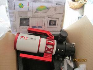 ALTAIR ASTRO 70 mm  f6/ ED(FLP=53 glass) TRIPLET REfRACTOR  - NEW UNUSED