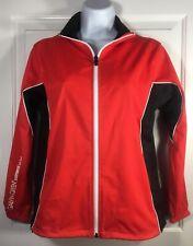 Galvin Green Red Black Windstopper Soft Shell Golf Jacket Jr M 146/152 Women Xs
