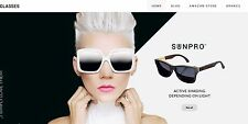Glasses & Eye Contacts Store -Established Affiliate Website Business