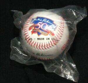 Jackie Robinson 50th Anniversary Logo Baseball Nabisco & Target Stores Promotion