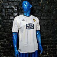 Leeds United Jersey Home shirt 2005 - 2006 White Admiral Trikot Mens Size M