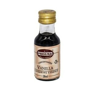 Vanilla Flavouring Essence 12 x 28 ml Preema (Halal)