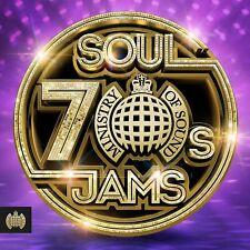 70's Soul Jams * 60 Classic Soul Tracks * New 3-Cd Boxset * All Original Hits