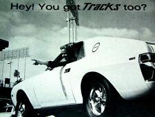 1968 AMC AMX TRACK STAR/KING/1/2/3 - CUSTOM WHEEL AD/SHOP ART poster-door/hood