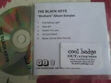 The Black Keys ‎– Brothers V2  UK Promo CD 5 track Album Sampler