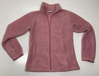 Columbia Full Zip Up Fleece Jacket Long Sleeve womens size XS