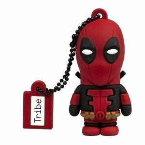 Marvel Deadpool USB Memory Stick 16GB Flash Drive - Boxed