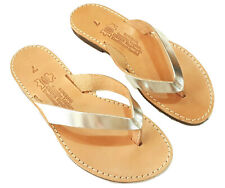 Ancient Greek Womens Sandals Flip Flops Roman Handmade Genuine Leather Shoes New
