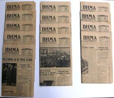 Very Rare Greek Newspaper Issues about the death of Eleftherios Venizelos 1936