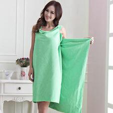 Womens Lady Microfiber Towels Soft Magic Bath Towel Bathrobes Bath Skirt Beach