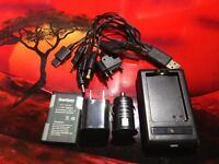CONTOUR CONTOURPLUS CONTOUR PLUS CHARGER KIT USB-AC-DC-CAR LIGHTER+BATTERY 3.7V