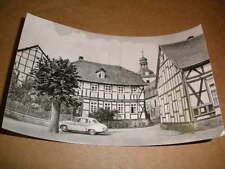 Rottleberode Sangerhausen 1969 Gemeindeverwaltung mit Auto