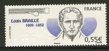 TIMBRE 4324 NEUF XX LUXE -LOUIS BRAILLE INVENTEUR DU SYSTEME EN POINTS SAILLANTS