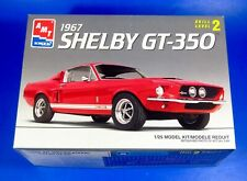1967 Shelby Ford GT-350 Mustang Car Model Kit 1/25th Scale AMT/ERTL #6633