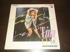 "TINA TURNER LIVE PRIVATE DANCER 12"" LASER DISC PIONEER ARTISTS RECORDS"