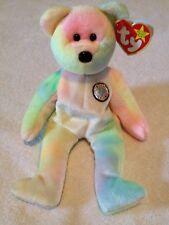 "1999 Ty Original Beanie Baby ""B. B. Bear"" the Birthday Beanie Bear (retired)"