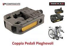 0490 - Coppia Pedali VP-Components Pieghevoli per Bici 20-24-26 MTB Mountain Bik