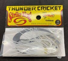 Strike King Thunder Cricket Bladed Swim Jig Vibrating 1/2 oz White
