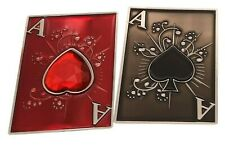 Lucky Ace Double Sided Poker Card Guard NEW & EXCLUSIVE to THE POKER STORE