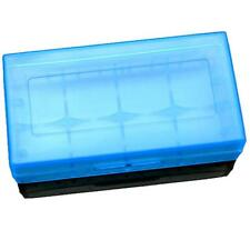 US 18650 CR123A 16340 Battery Case Holder Box Storage Color Optional Blue
