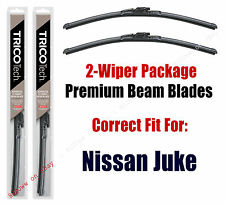 Wipers 2-Pack Premium Beam Wiper Blades fits 2011+ Nissan Juke - 19220x2