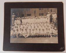 YALE COLLEGE class 1899 reunion Pach Bros NEW HAVEN CT Lion statue vintage photo