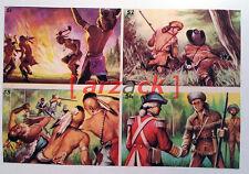 Album LONTANO WEST 1 DARDO 1962 - 4 figurine 51 52 53 54