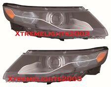 FIT CHEVY VOLT 2011-2015 RIGHT LEFT HALOGEN HEADLIGHTS HEAD LIGHTS LAMPS PAIR