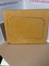 JUMBO AccuCut CAMERA-BOOK 1of 2 B1548JB Steel-Rule Wood Die - Scrapbook EUC