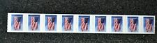 2019USA #5342 Forever U.S. Flag US - PNC Plate Number (#P1111) Coil Strip 9(APU)