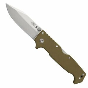 Cold Steel SR1 Knife, OD Green G-10 Handle #62L