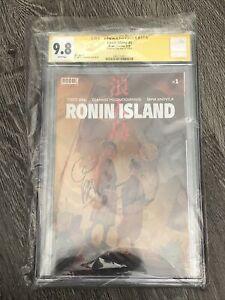 SS CGC Graded 9.8 Ronin Island #1 Boom! Studios 2019 Signed by Greg Pak