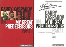 Garry Kasparov SIGNED AUTOGRAPHED My Great Predecessors Part I HC 1st Ed/1st