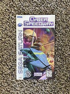 Cyber Speedway Sega Saturn Original Instruction Manual Only