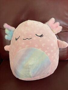 "Squishmallows Cressida the Axolotl 12"" Target Exclusive - Glow In Dark"
