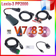 Lexia-3 PP2000 OBD Testeur V48 Diagbox Diagnostique Outil Car PR Citroen/Peugeot