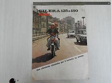BROCHURE DEPLIANT ORIGINALE GILERA 125 150 5V ARCORE 1974