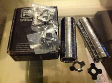 Haro Pegs Alex chrome Bmx freestyle Old mid shool Spider Lite CP110mm.Adapters