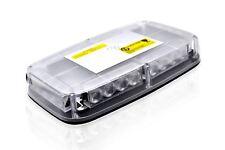 Clear Lens Amber LED Flashing Beacon Strobe Light Bar Lorry Forklift Truck Van