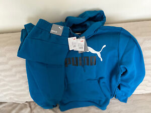 Puma Mid Blue Tracksuit / Bottom: medium Hoodie: Large RRP: £100